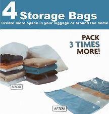 4 x Space Saving Storage Bags Vaccum Vac Spacebags Vacuum (145/0192)