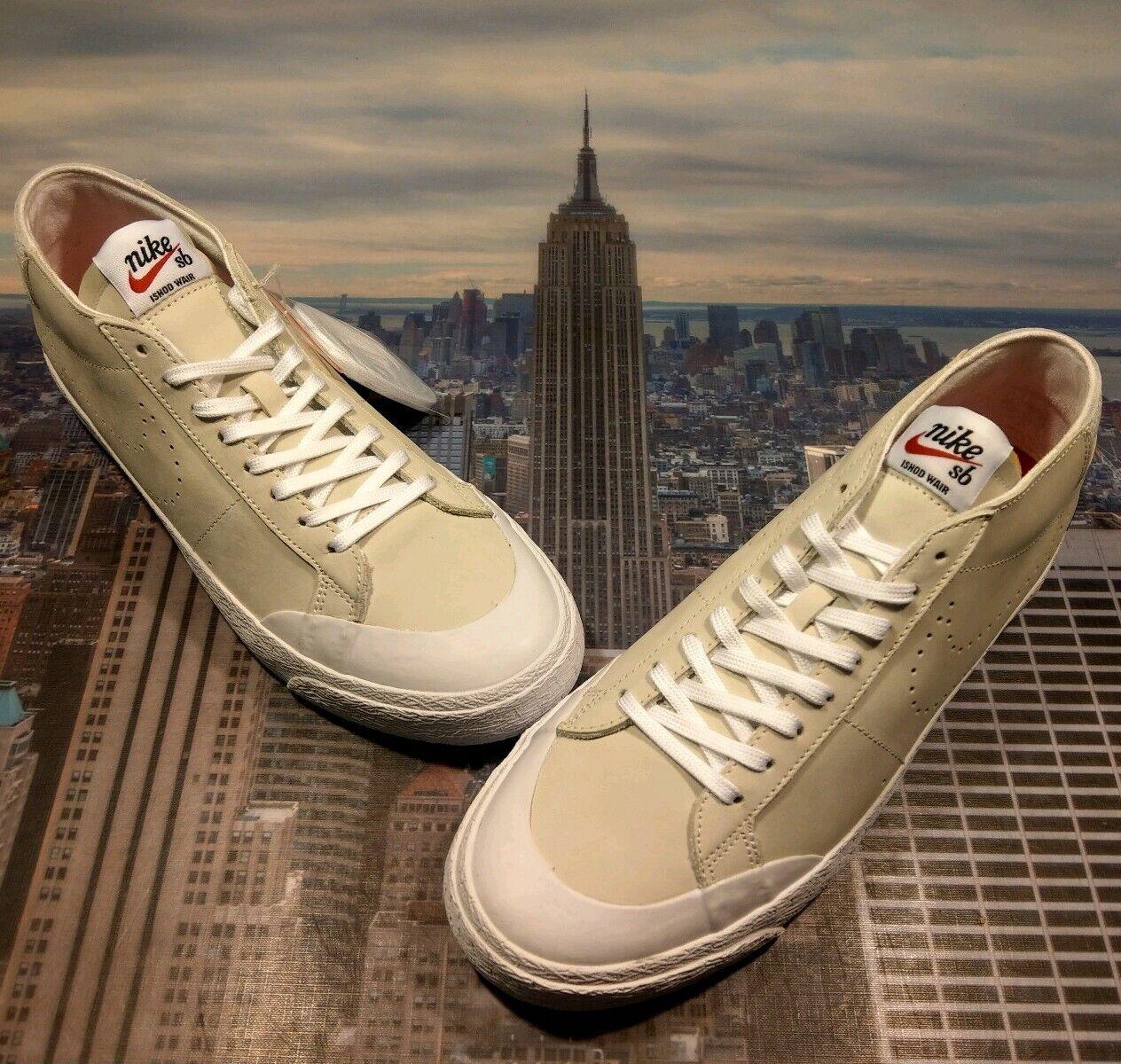 Nike SB Zoom Blazer Chukka XT QS Ishod Wair Sail Mens Size 11 AR5410 161 New