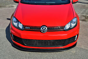 Noak-Cuplippe-Spoilerschwert-Frontspoiler-Lippe-ABS-fuer-VW-Golf-6-GTI-GTD-ABE