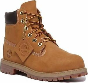 Timberland-12909-Juniors-6-Inch-Premium-Lace-Up-In-Wheat-Size-UK-3-7