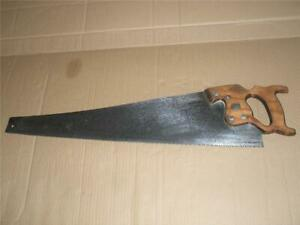 Vintage-Disston-Hand-Rip-Saw-Canada-26-034-Blade-6-TPI-Woodworking-Tool-Sharpened