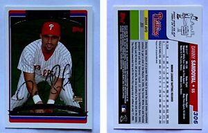 Danny-Sandoval-Signed-2006-Topps-306-Card-Philadelphia-Phillies-Auto-Autograph