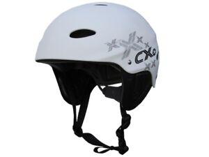 Concept-X-Wassersport-Schutz-Helm-Kite-Surf-Segeln-Wakeboarden-Grose-S-weis