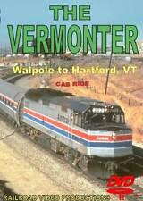 Vermonter Cab Ride Walpole NH to Hartford VT DVD NEW RVP Amtrak F40 NEC