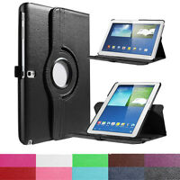 Rotation Case Cover For Samsung Galaxy Note 10.1 2014 Edition P600 Leather Case