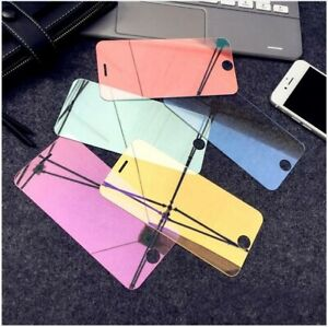 Colored Tempered Glass Protector iPhone X XS XS 11 Pro Max 5  SE 6 6S 7 8 Plus