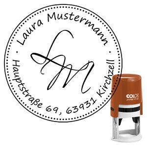 Lieferzeit 24-48 h StempeldesignHauser Adress-Stempel Textstempel Printer R40 Design