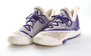 Mens ADIDAS Shoes Sz 13 M in Crazy Light Boost 2.5 Purple White ...