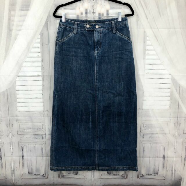 Timeless Class Modest Long Denim Skirt | Modest Jean Skirt ... |Western Long Denim Skirts Modest