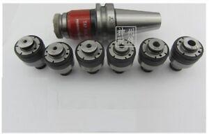 BT40-G0312-6Pcs-ISO-Set-Tension-amp-Compression-Tap-Holder-for-ISO-Standard-Tap