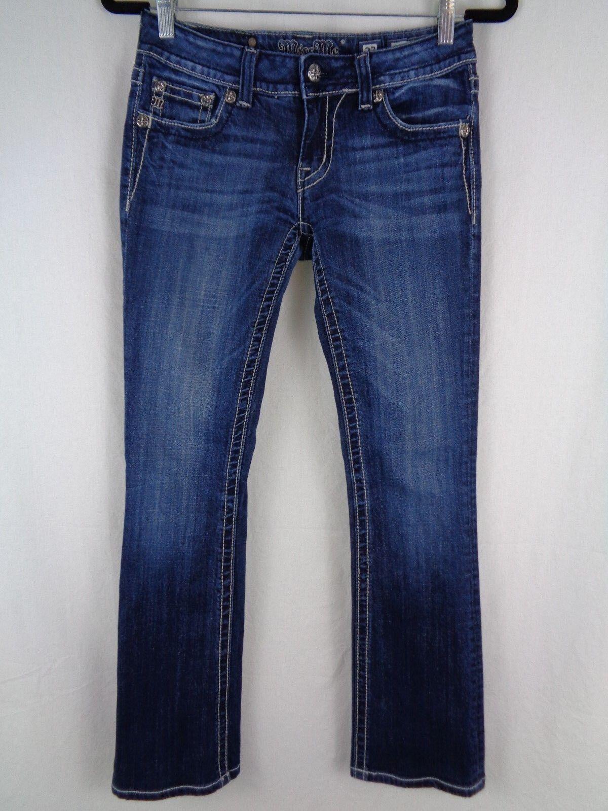 Miss Me Womens Jeans Size 27 bluee Pants 28X30