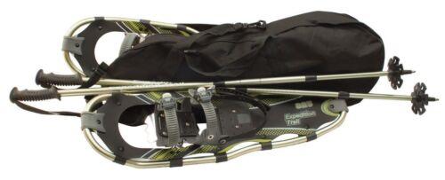 NEW Expedition Explorer Plus Snowshoes with Poles  Alumnium Snow Shoe