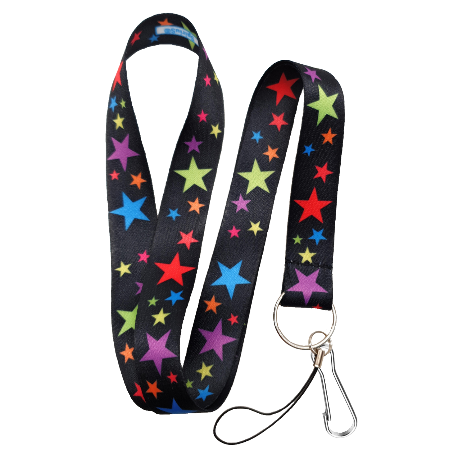 Phone /& Keys Lanyard Neck Strap Bubbles Spots Daisy /& Stars for ID Badge