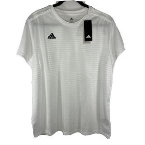 NEW Adidas Womens 2XL Condivo 18 Soccer Jersey White Climalite $50 ...