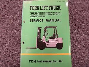 Tcm fg20n2s fg23n2s fg25n2s fd20z2s fd23z2s forklift shop service image is loading tcm fg20n2s fg23n2s fg25n2s fd20z2s fd23z2s forklift shop fandeluxe Gallery