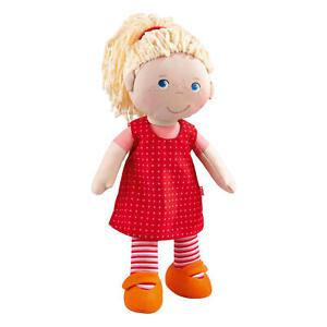 HABA-Puppe-Annelie-Pluesch-Figur-Plueschfigur-Kuschelfigur-Stoffpuppe-Spielzeug