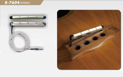 Ukulelen Bass Akustik Bass Belcat B7604 Pickup Piezo Tonabnehmer für acoustic