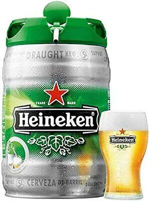 Birra Heineken 5 Litri Sistema Di Spillatura A Pressione 2 Fusti 10lt Totale Ebay