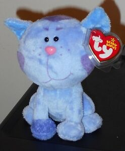 Ty Beanie Baby ~ PERIWINKLE the Cat (Nick Jr. ~ Blues Clues) MWMT