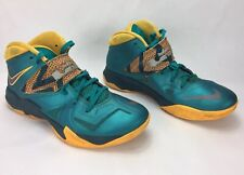 online store 85cac d69d6 item 4 Nike Lebron James Zoom Soldier VII Turbo Green   Atomic Mango  599264-308 Size 8 -Nike Lebron James Zoom Soldier VII Turbo Green   Atomic  Mango ...