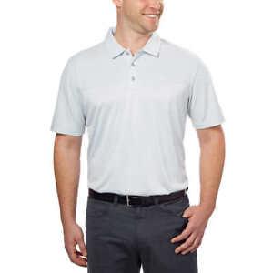 704b02072e Dettagli su Nuovo Bolle Camicia da Uomo Grigio Chiaro Golf Maglia Polo per  Golf - M