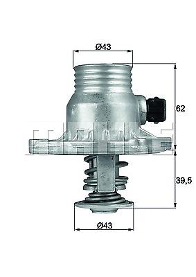 Thermostat Kühlmittel - Behr TM 11 105