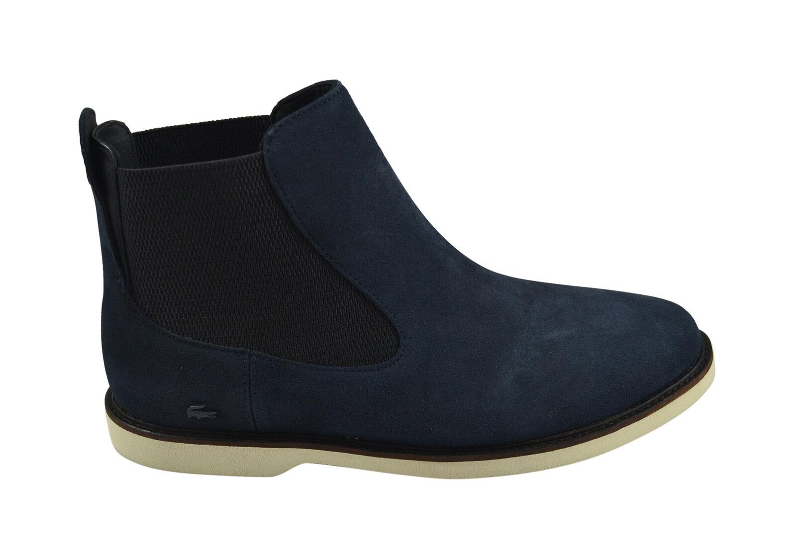 Lacoste thionna SRW dark blue botas zapatos/