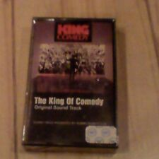 King of Comedy Soundtrack Cassette SEALED