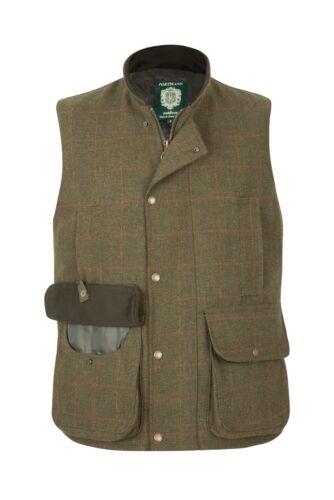 Portman Homme Malvern Tweed Laine Gilet Body Warmer Gilet Gilet XS à 3XL