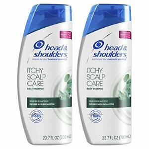 Head & Shoulders Itchy Scalp Care Anti-Dandruff Shampoo, 23.7 Fl Oz, Twin Pack