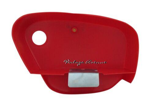 RED HONDA CUB C100 CA100 C102 C105 C50 C65 C70 C90 CM90 CM91 SIDE COVER 1PAIR