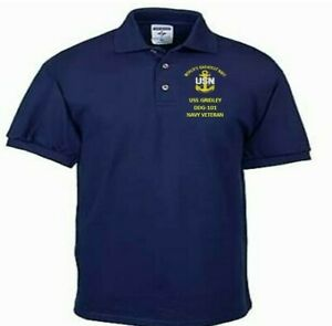 USS-GRIDLEY-DDG-101-NAVY-ANCHOR-EMBROIDERED-LIGHT-WEIGHT-POLO-SHIRT