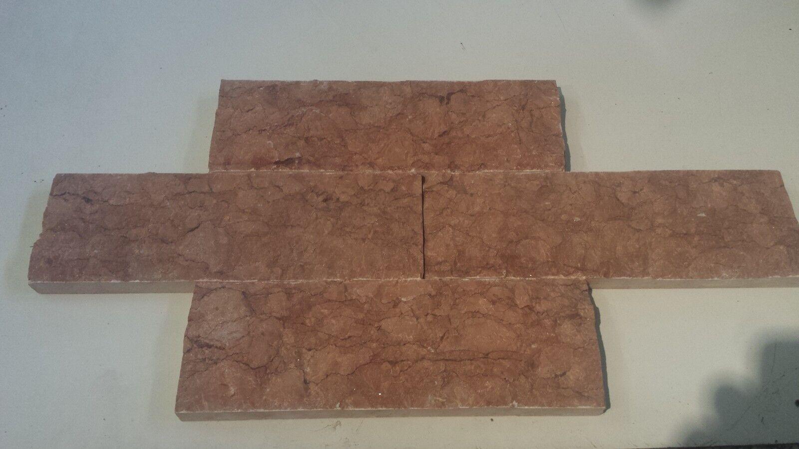 Marmor Verblender,  rot Verona  Wandverkleidung Verblender,Klinker