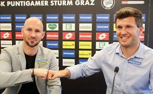 Online Meet & greet mit Andreas Schicker und Christian Ilzer - STURM HILFT!