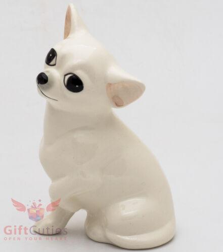 Porcelain Figurine of the Chihuahua dog