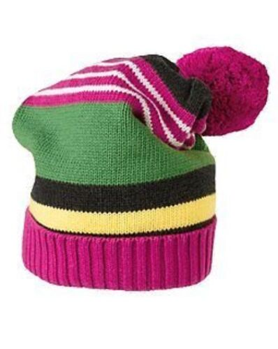 GYMBOREE MERRY /& BRIGHT MULTI COLOR STRIPE SWEATER HAT 5 7 8 9 NWT