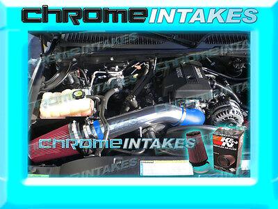K/&N+BLACK RED 99-07 CHEVY//GMC//CADILLAC TRUCK//SUV 4.8//5.3//6.0//8.1 COLD AIR INTAKE