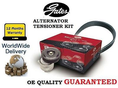 FOR FORD GALAXY + VAN 1995-2006 1.9TDI GATES ALTERNATOR FAN BELT + TENSIONER KIT