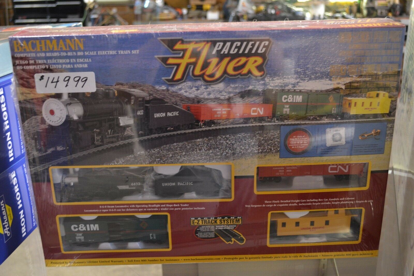 Bachmann Pacific Flyer HO Train Set - - - NEW a54c53