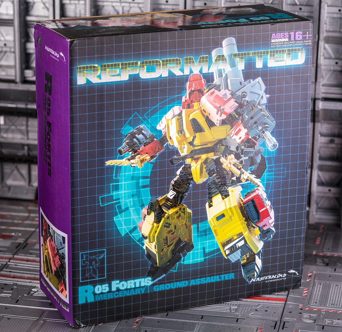 Transformers MMC R05 Fortis Mercenary Headstrong Predaking