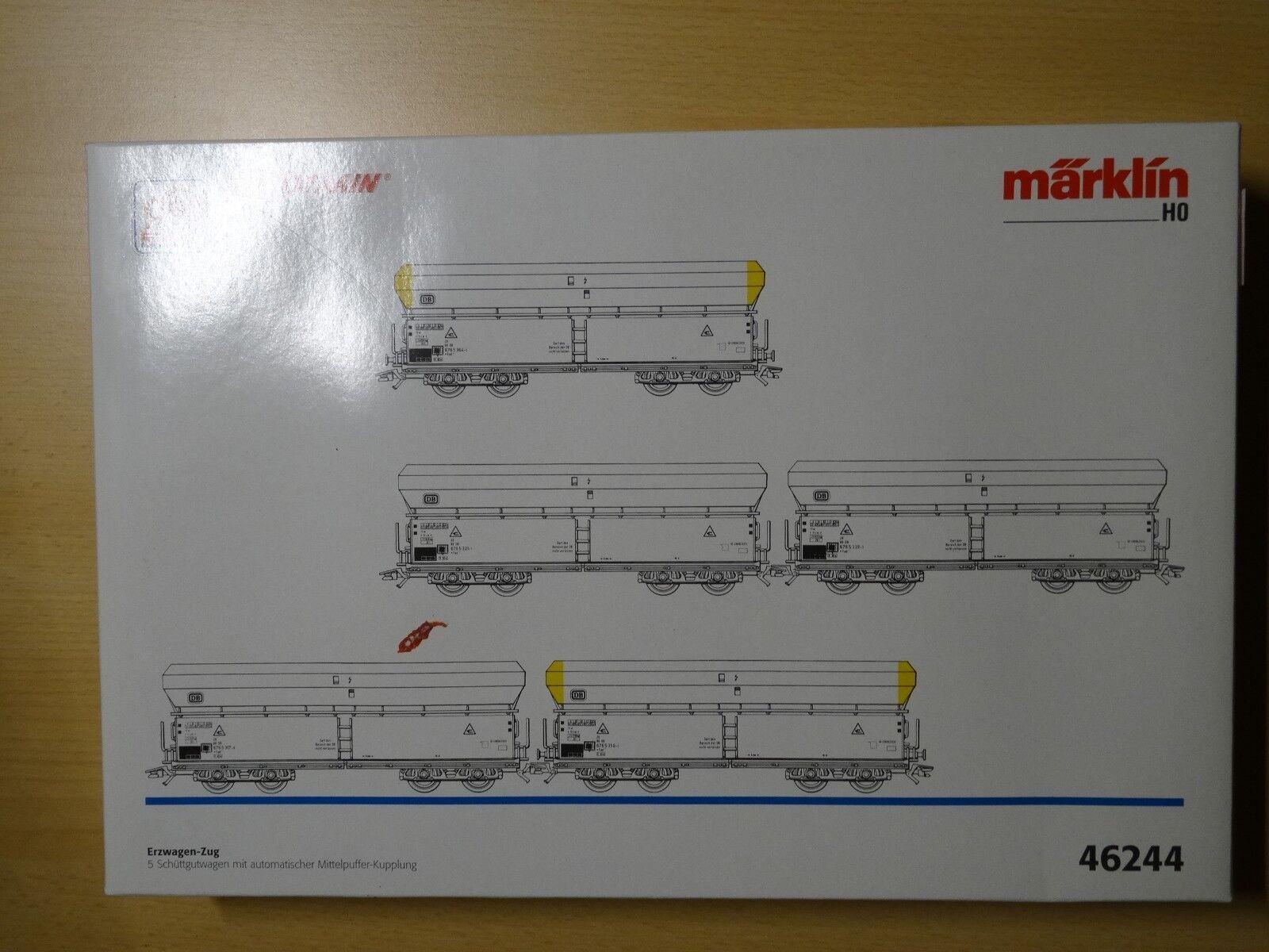 Märklin HO ART 46244 erzwagen-treno della DB Neuw Org-KT