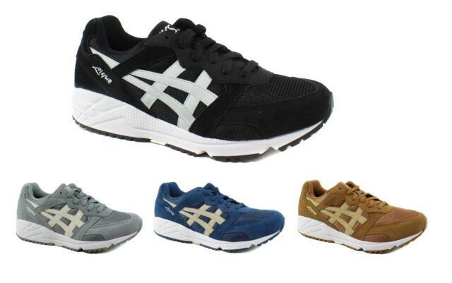 Mens Shoes Running Gel Asics Sneaker Lique Suede Casual EIWDH29