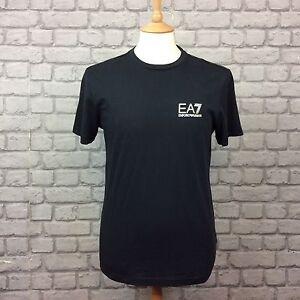 EA7-EMPORIO-ARMANI-MENS-INT-UK-M-BLACK-CORE-ID-SHORT-SLEEVE-T-SHIRT