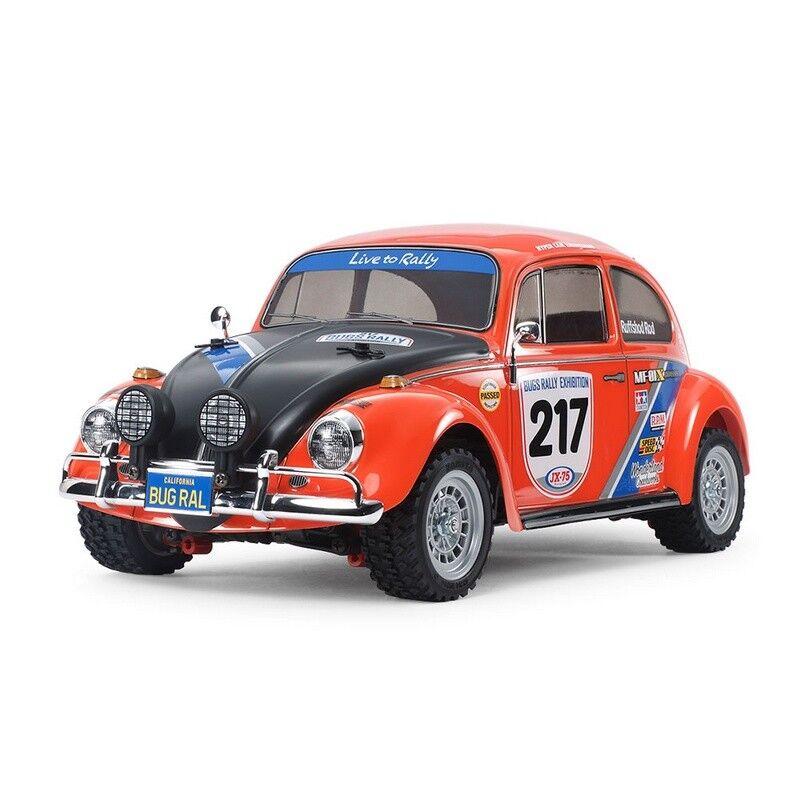Tamiya TAM58650 Volkswagen Beetle Rally-MF-01X