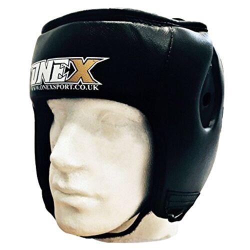 ONEX Box FACCIA Saver BAR HEADGUARD Testa Guardia Boxe MMA KICKBOXING Adulti