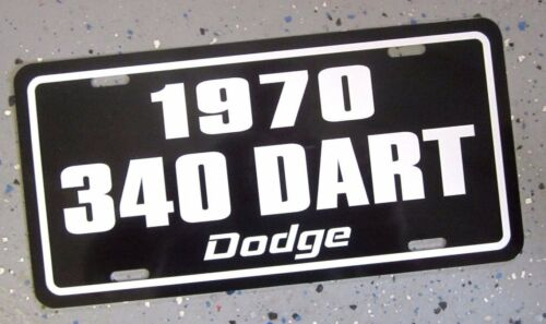 1970 Dodge DART 340 license plate car tag 70 High Performance Muscle Car