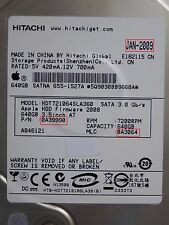 640GB Hitachi HDT721064SLA360 | 0A39990 | MLC: BA3064 | JAN-2009 PCB OK #195-209