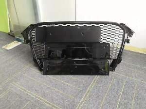A4-Front-Grill-Mesh-Grille-for-Audi-A4-B8-5-amp-S4-12-15-To-RS4-Quattro-Full-Black