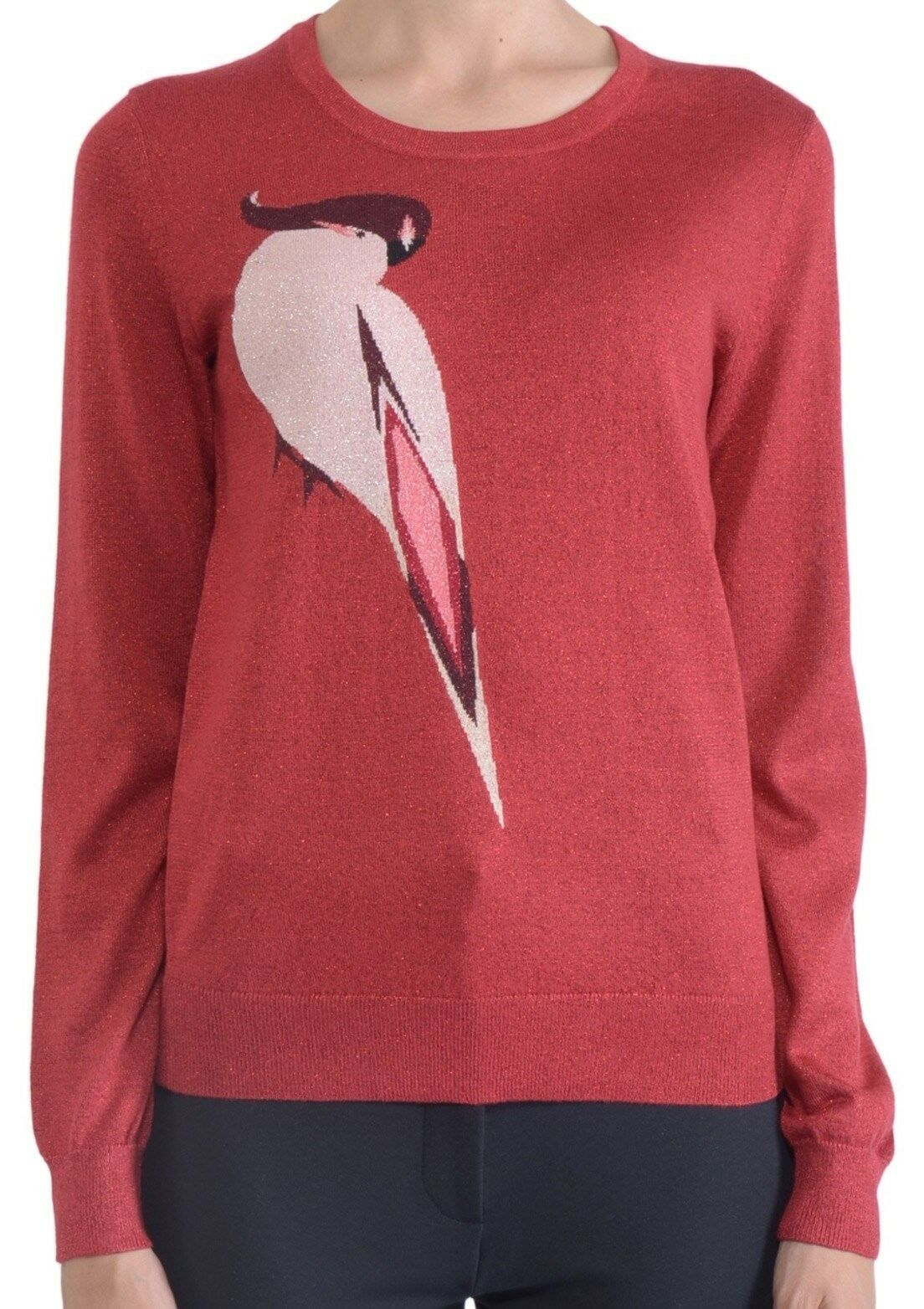 NWT  Marc by Marc Jacobs Parred Print Sweater Size M