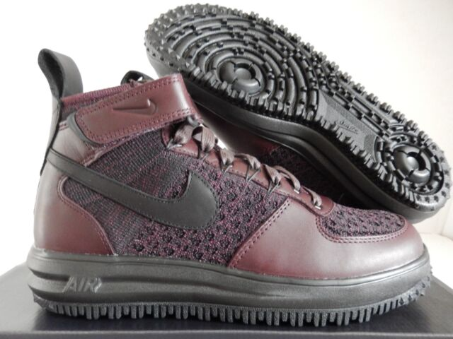 the best attitude c4c93 fecc2 Nike Af1 Lunar Force 1 Flyknit Workboot Men 12 Burgundy 855984-600